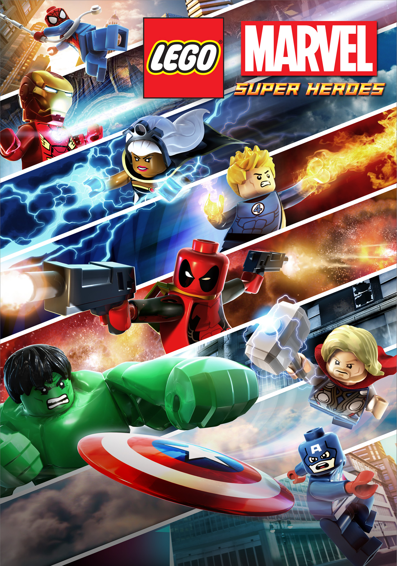 The New Poster For Lego Marvel Super Heroes Superherohype