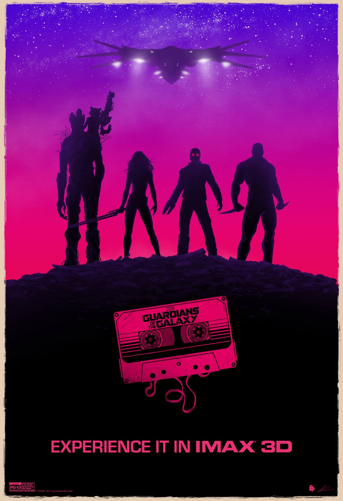 Guardians Of The Galaxy Movie Poster The Fan IMAX Poster fo...