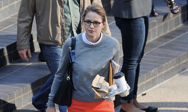 Supergirl Set Photos