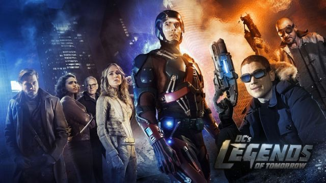 First Look at Hawkman and Hawkgirl in DC's Legends of Tomorrow!