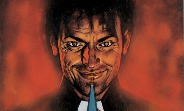 Preacher Series to Premiere on AMC in May 2016, Seth Rogen Shares First Poster