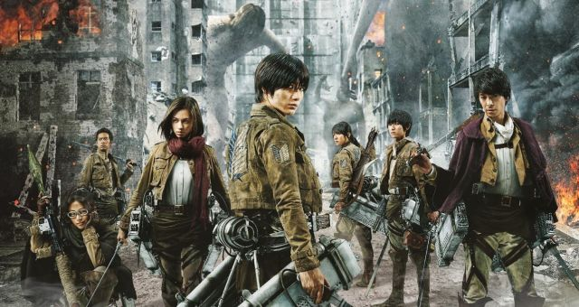 action live Attack titan movie on