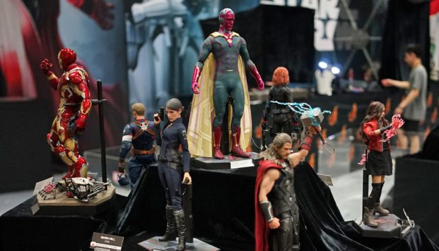 Hot Toys Comic-Con Photos Show Off Star Wars, The Avengers, and More!