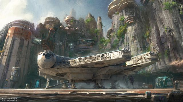 D23: Disney Confirms Star Wars Land for Anaheim and Orlando Theme Parks!