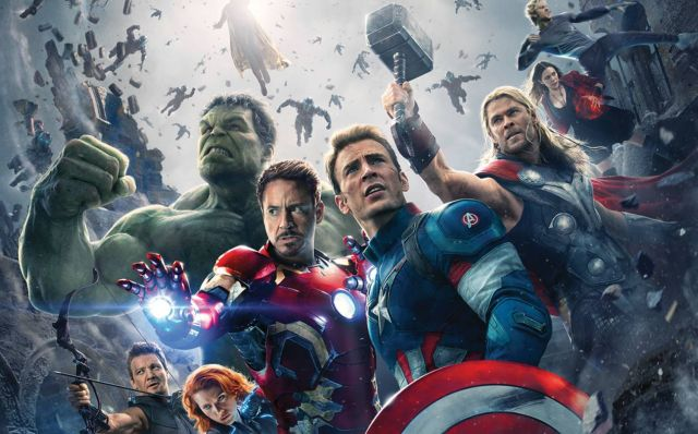 The Avengers Assemble for Another Age of Ultron Gag Reel