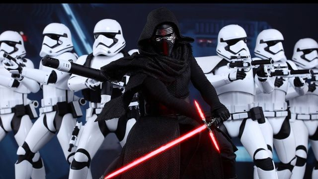 Hot Toys Reveal Star Wars: The Force Awakens Kylo Ren and First Order Stormtroopers!