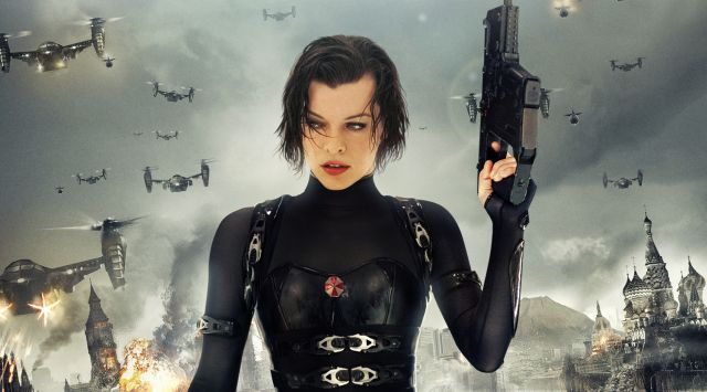 Milla Jovovich Shares Another Resident Evil Photo from the Set.