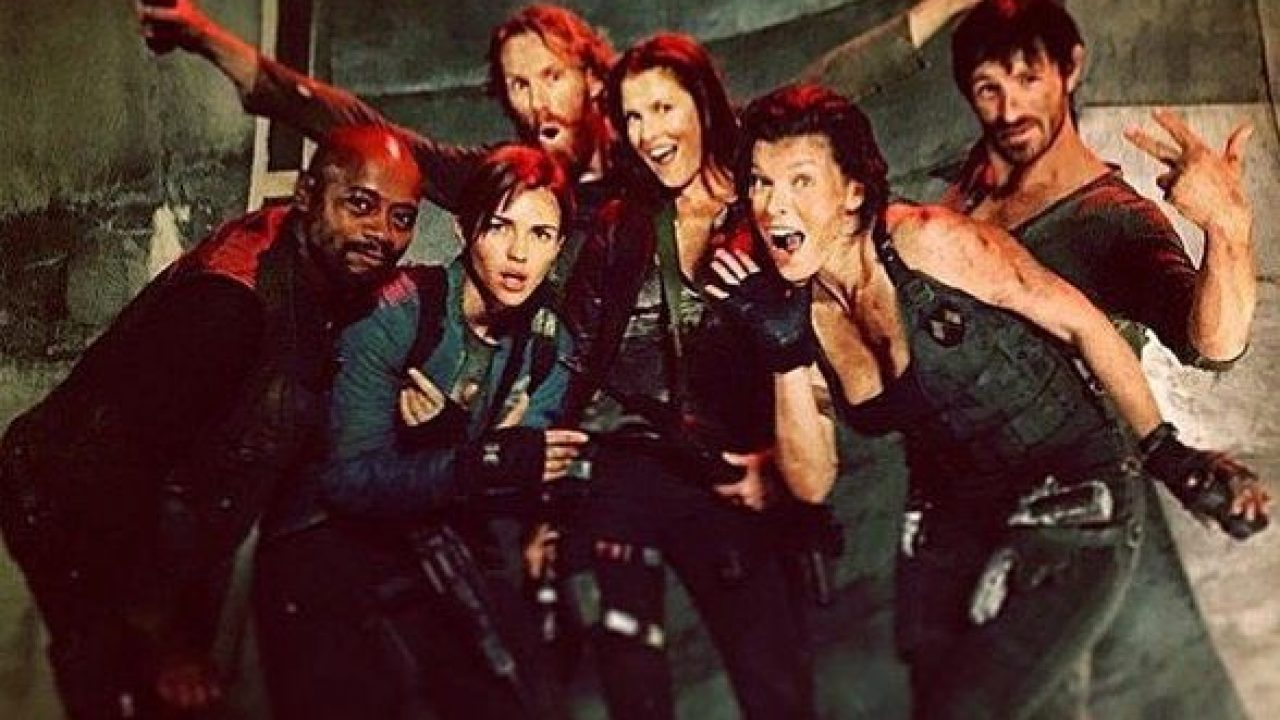 Milla Jovovich Shows More Of The Resident Evil Cast On Set