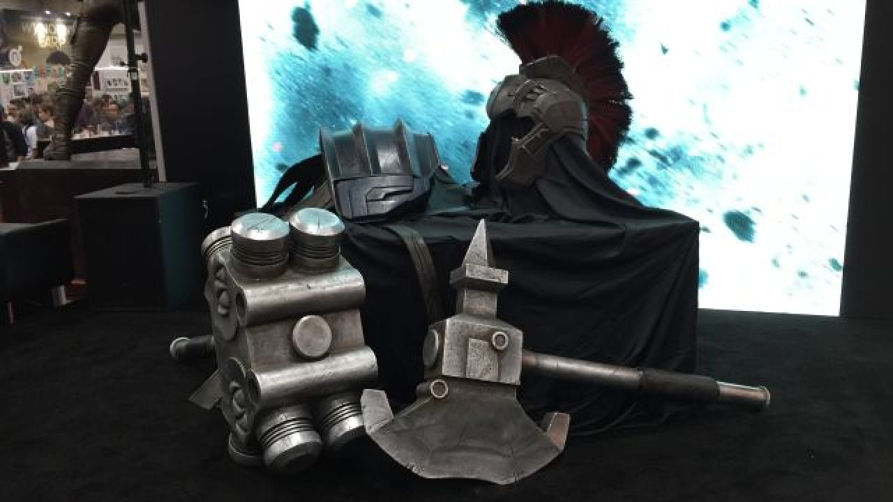 Gladiator Hulk Armor Revealed From Thor Ragnarok
