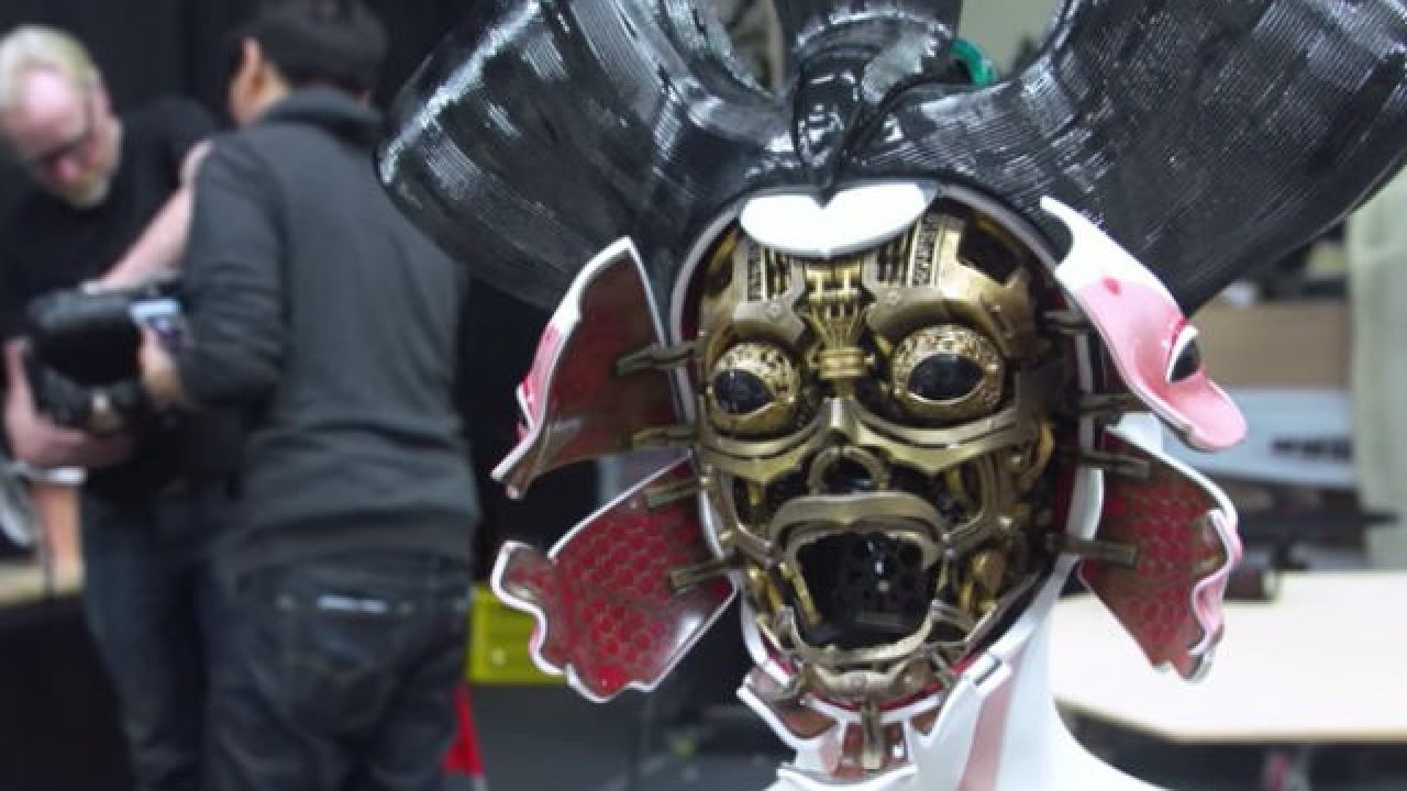 Ghost In The Shell Geishas Go Behind The Scenes At Weta