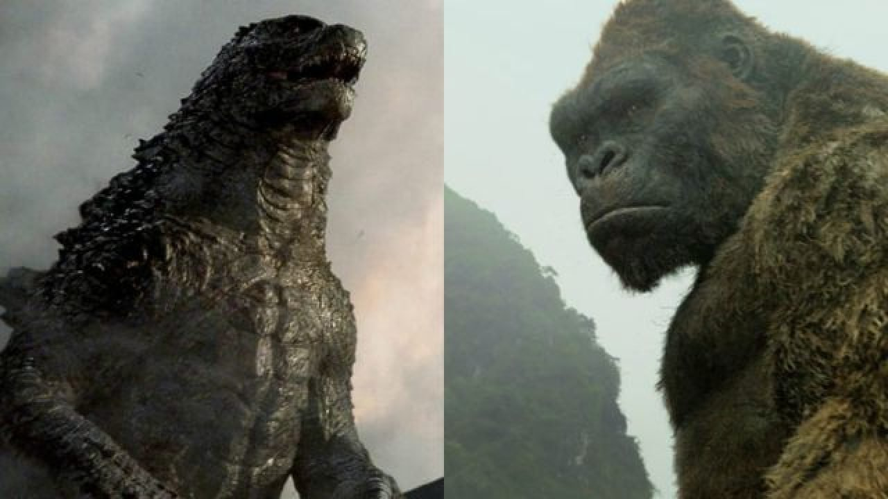 The Two Main Behemoths Clash In Leaked Godzilla Vs Kong Art Kong has gone through numerous release date changes since its initial announcement. leaked godzilla vs kong art