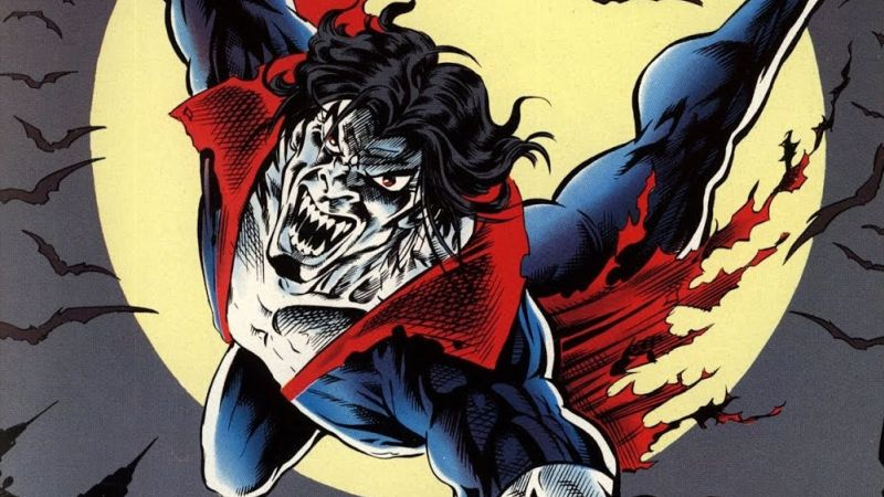Jared Leto's Morbius Takes Flight in Set Video