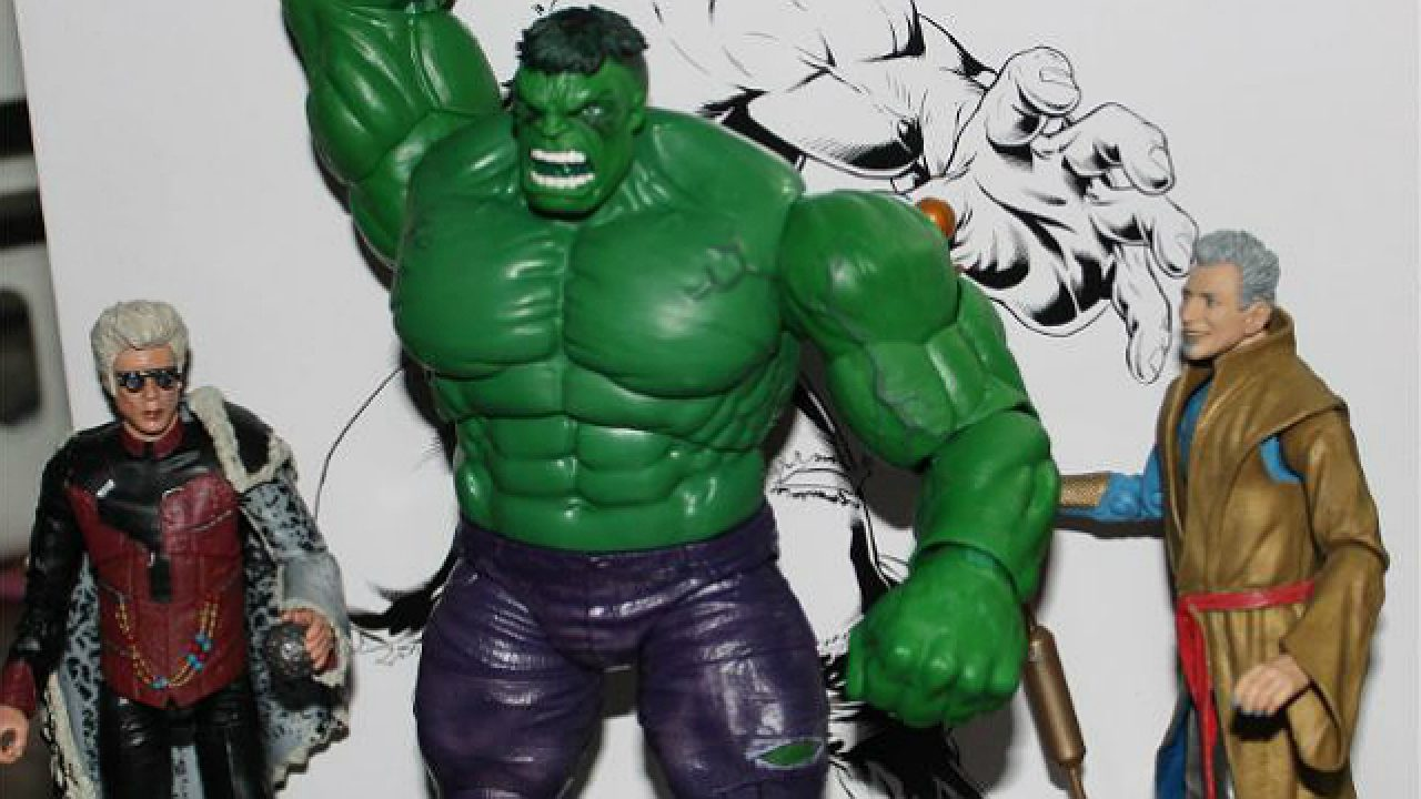Review: SDCC 2019 Exclusive Marvel Grandmaster, Collector, Hulk