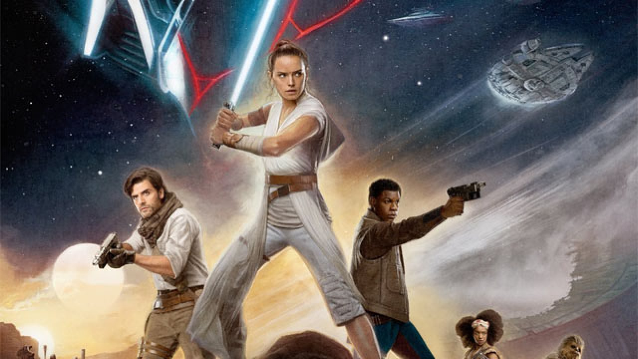 Star Wars The Rise Of Skywalker Gets New Imax And Reald 3d Posters