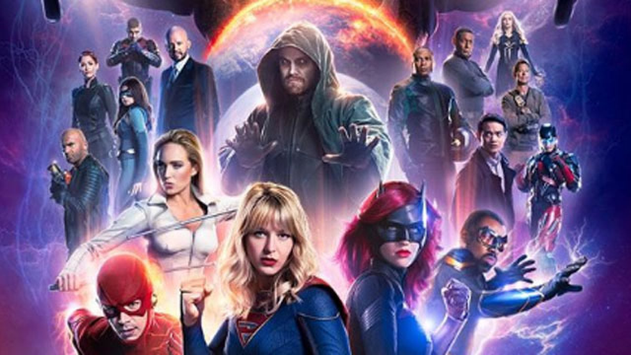 Image result for crisis on infinite earths cw