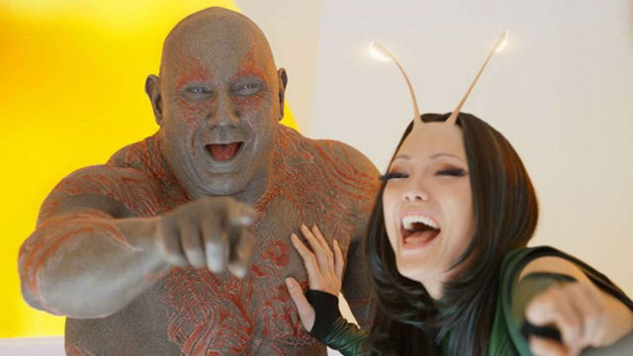 Image result for drax and mantis
