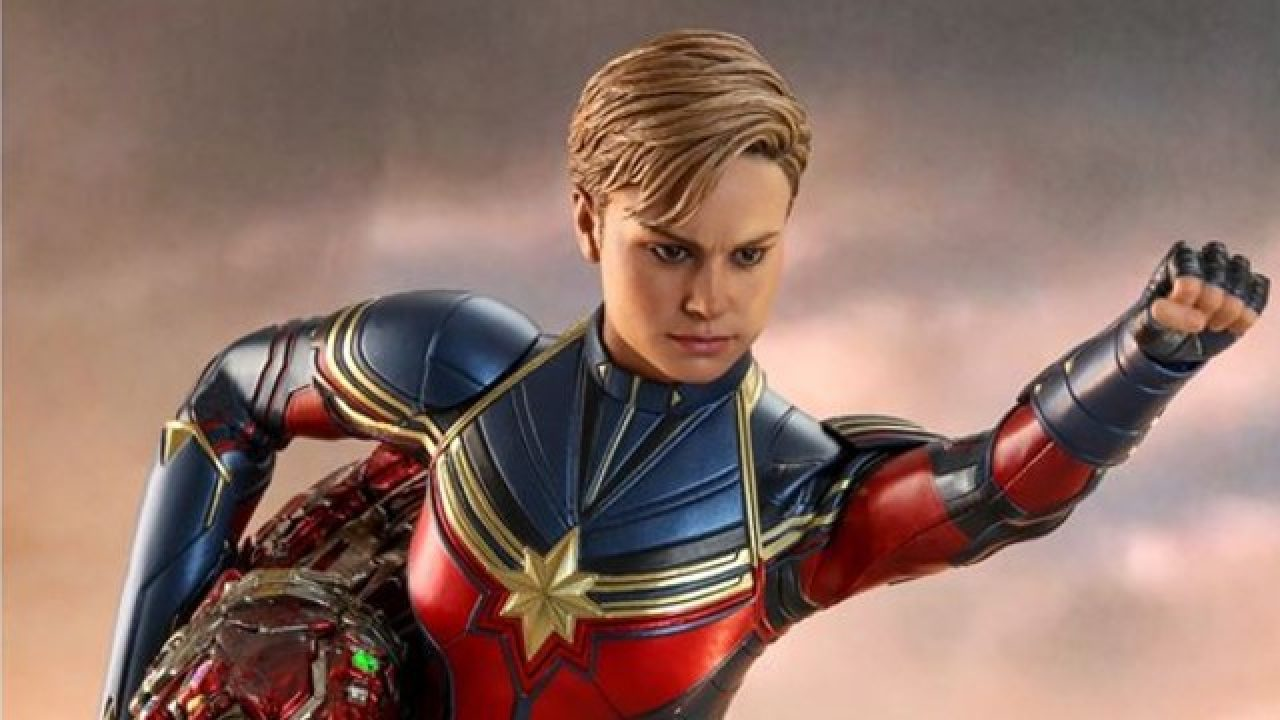 Hot Toys Makes Avengers Endgame Captain Marvel Figure Captain marvel's hair is one of her coolest features, but it's unfortunately not without its controversy. hot toys makes avengers endgame captain
