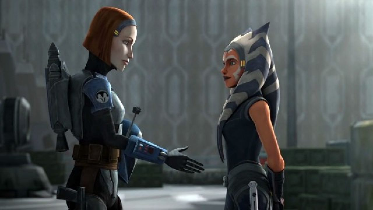 Katee Sackhoff Reportedly Cast as Bo-Katan in The Mandalorian