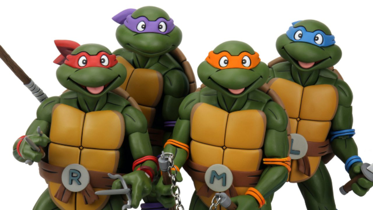 Neca S Comic Con Home Teenage Mutant Ninja Turtles Toy Reveals