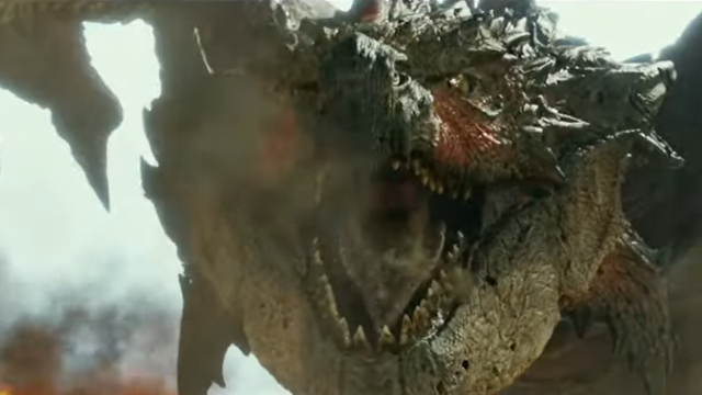 New Monster Hunter Clip Shows Off Diablos and Rathalos!