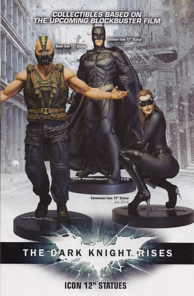 Hi-Res Photos of The Dark Knight Rises Statues and Busts - ComingSoon ...