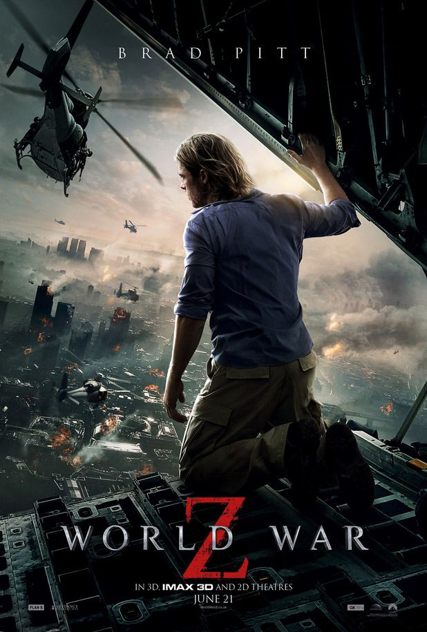 See the New Poster for World War Z!