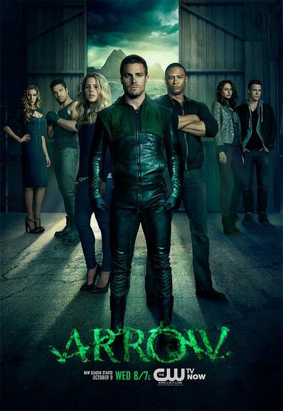 First Poster and Banner for Arrow Season 2 Released