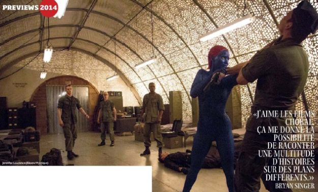 New Images of Bishop and Mystique in X-Men: Days of Future ...
