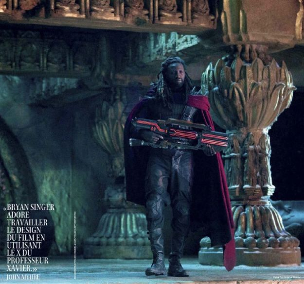 X Men Days Of Future Past Bishop New Images of B...