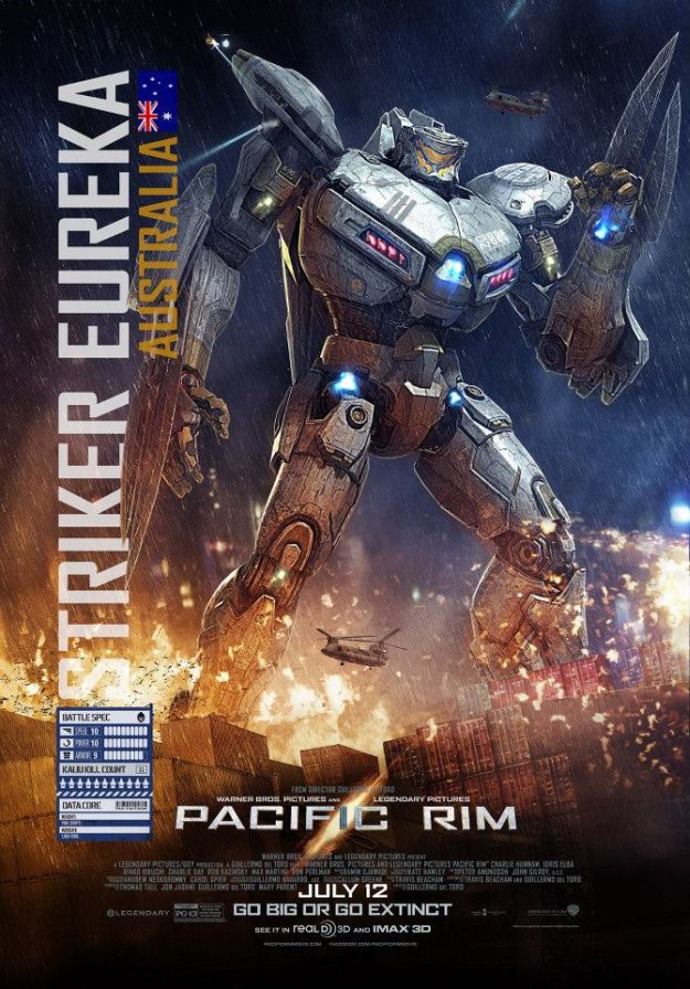 Two More Pacific Rim Character Posters, Promo Videos for Companion ...