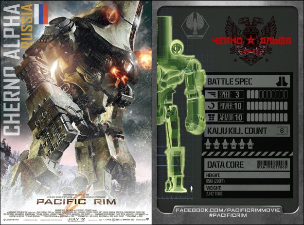 WonderCon: Pacific Rim Reveals Jaeger Trading Cards